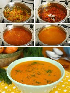 Great Vegetable Soup (Don& Try It) (with video) - Delicious Recipes- Harika Sebze Çorbası ( Denemeyen Kalmasın) (videolu) – Nefis Yemek Tarifleri Great Vegetable Soup (Don& Try It) (with video) … - Healthy Soup Recipes, Vegetable Recipes, Great Recipes, Cooking Recipes, Yummy Recipes, Turkish Recipes, Ethnic Recipes, Shellfish Recipes, Food Articles