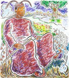 John Bankston, At the Crossroads, 2006-2007, Oil on linen, 54 x 48 in.