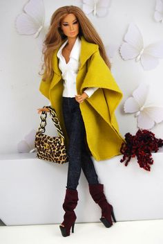 Dresses designed and made to fit mostly Fashion Royalty Dolls but also Silkstone and Barbie dolls. Barbie Clothes Patterns, Doll Clothes Barbie, Vintage Barbie Dolls, Barbie Dress, Clothing Patterns, Barbie Barbie, Barbie Style, Barbie Model, Fashion Dolls