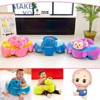 Kup si 4 Styles Cartoon Baby Safety Seat Auxiliary Baby Learn To Sit Sofa Animal Head Cushion Children Gift Protect Your Baby's Safety Cushion za Wish - Nakupování je zábava