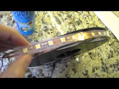 5050 Waterproof Flexible LED Light Strip Review for Undercabinet Lighting