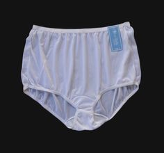 100/% Nylon  Pantie Cotton Crotch Size Small   Blue Nice And Silky