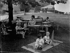 The Montessori Heart of Texas: Montessori History: Children at Work in Classrooms