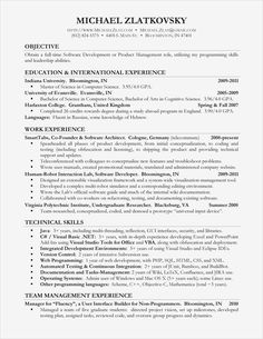 76 Awesome Image Of Sample Resume Computer Skills Section