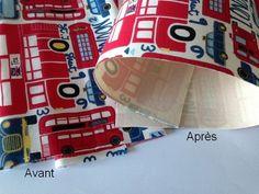 Comment rigidifier un tissu coton
