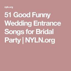 39 best Entrance Songs images on Pinterest | Dream wedding, Wedding ...