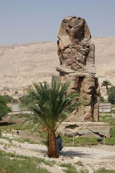 Colosse de Memnon (reste du temple d'Aménophis III)