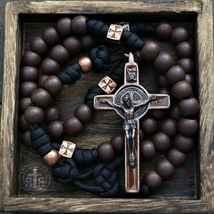 Rugged Rosaries ◾ Catholic Rosaries ◾ Paracord and Combat Rosaries Diamond Cross Necklaces, Diamond Choker, Diamond Solitaire Necklace, Paracord Rosary, Rosary Catholic, Holy Rosary, Cluster Necklace, Rosary Beads, Birthday Gifts For Her