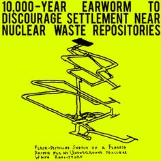10,000-Year Earworm to Discourage Settlement Near Nuclear Waste Repositories