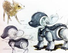 """다음 @Behance 프로젝트 확인: """"Robot Design 2010"""" https://www.behance.net/gallery/6935149/Robot-Design-2010"""