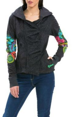 DESIGUAL Berta Hooded Jacket