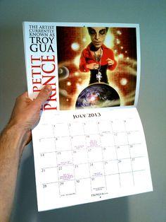 Troy Gua's Le Petit Prince 2013 Calendar