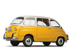 1960 Fiat Multipla.