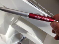 gadget: penna a scatto marchiata Evolution Clean