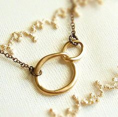 Organic Circles Necklace