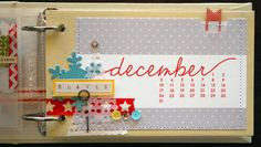 December Daily : Intro page + Day 1 by nicolereaves at Studio Calico