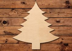 Items similar to Christmas Tree Wood Blank Wooden Cutout on Etsy Handmade Christmas Tree, Christmas Decorations To Make, Christmas Treats, Christmas Projects, Wooden Cutouts, Homemade Crafts, Diy Arts And Crafts, Tis The Season, Baltic Birch