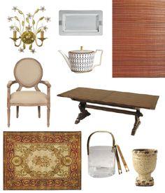 GOLDEN DREAMLAND: Interior Design Inspiration: Ava Gardner's Spanish Dining Room