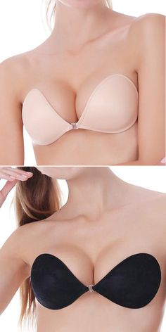 8dd9f64f0e53a Invisible Silicone Strapless Backless Self-adhesive Wedding Dresses Bras is  fashionable and cheap