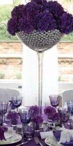 Nothing like a giant wine glass centerpiece! Wine Glass Centerpieces, Wedding Centerpieces, Giant Wine Glass, Happy Wine, Flower Decorations, Table Decorations, Wedding Wine Glasses, Country Decor, Country Living