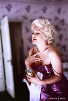 Marilyn Monroe for Chanel No.5,1955
