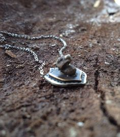 Dragon Slayer Handmade Necklace by ScrapandSmith on Etsy