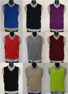 Club Room Men's Cotton Sweater Vest, Only at Macy's | ΓΙΛΕΚΑ ...