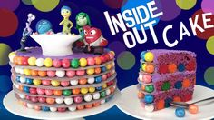 INSIDE OUT CAKE tutorial by How To Cook That | Ann Reardon Memories on the inside and outside
