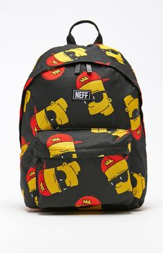 x The Simpsons Bart Steeze Backpack