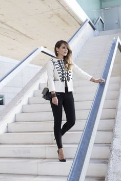 Street Style Fashion It Girl Blazer - Military Jackets by The Extreme Collection visit us: www.theextremecollection.com