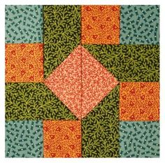 easy quilt block patterns - Google Search