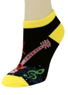 3 Pairs Assorted Electric Guitar Low Cut Socks (Size 9-11) Yelete. $6.99. In electric guitar and treble clef pattern. Imported. Made from 95% polyester & 5% spandex. In Lot of 3 pairs sizes 9-11. Retails at 20.00 pack of 3 pairs