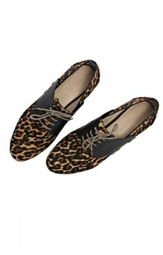 ABSOLUTELY need to have these in my life... bite the bullet... get the credit card ready! Edition01Cheetah Frēda Change Loafer
