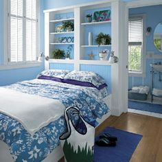 Colorful Coastal Bedrooms | Lively Bedroom | SouthernLiving.com