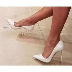 Bridal High Heels Wedding Shoes ❤️Tag a friend who would love this! Sexy Wedding Shoes, Wedding High Heels, Prom Shoes, Bridal Shoes, Hot High Heels, High Heels Stilettos, Womens High Heels, Stiletto Pumps, Women's Pumps