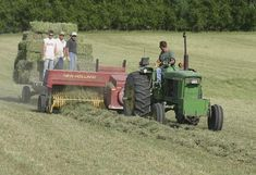 bailing hay | Baling hay is good for the soul