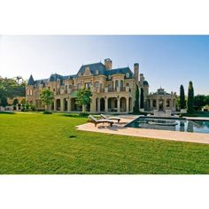 A Super luxury mansion home 20 Pics Curious, Funny Photos Pictures ❤ liked on Polyvore
