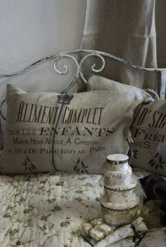 Cushion Cover Aliment -nature from Jeanne dArc Living
