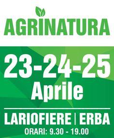 #Agrinatura la mostra per chi ama la natura! 23-25 Aprile dalle 9.30 alle 19.00 #Lariofiere #dontmissit #earthday #earthday2017 #earthday #giornatadellaterra #agri2017