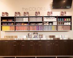 The Color Bar! Where the magic happens. We can enhance your look.