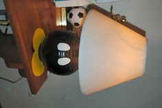 Mario Room Projects-Bob-omb lamp, pipe trash can, quilt, etc... - HOME SWEET HOME