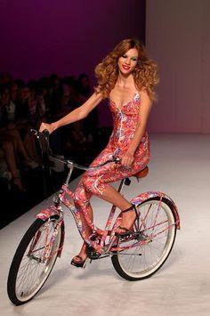 Bikes on runways! We Are Handsome MBFWA 2013
