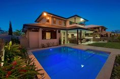 House for Sale Sanctuary cove, QLD 2257 Banksia Lakes Drive Gold Coast, Lakes, The Incredibles, Mansions, House Styles, Dream Homes, Pools, Cribs, Houses