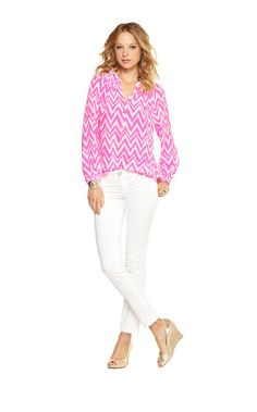 Elsa Top - Tropical Pink Get Your Chev On classic