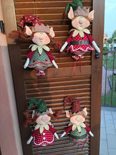 The Fairy of Flowers: Angel Homemade Christmas Decorations, Homemade Christmas Gifts, Christmas Themes, Holiday Decor, Christmas Sewing, Christmas Gnome, Christmas Crafts, Christmas Ornaments, Everything Cross Stitch