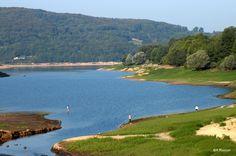 Nature, espace et pêche, bienvenue au lac de Pannecière ! #morvan #bourgogne