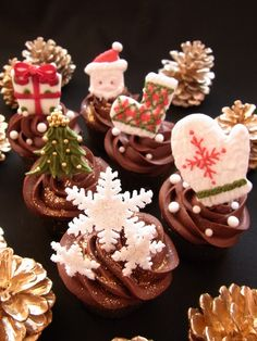 X'mas cupcakes lovely