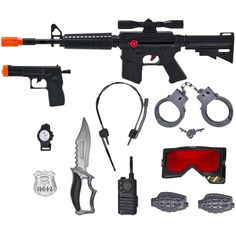 Kids-Army.com - M16 Police Squads Tactical Combat Set, $11.99 (http://www.kids-army.com/m16-police-squads-tactical-combat-set/)