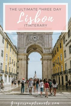 This guide will help you figure out how squeeze the best of Lisbon into three days so that when you leave, you will feel like you've made the most of your time there.
