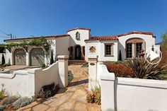 single story spanish style homes - Google Search
